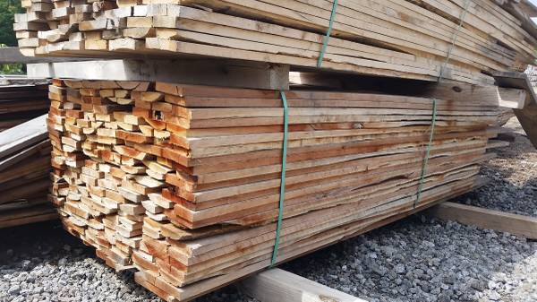 CHEAP Rough Cut Lumber for siding & misc wood projects ...