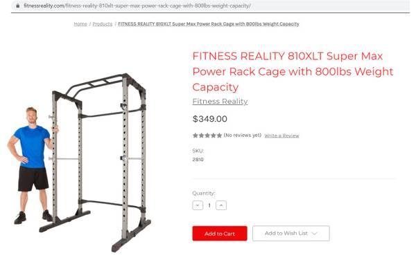 Photo Lifting Power Cage, new - $150 (Morgantown)