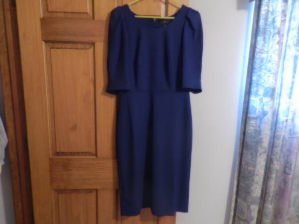 Photo New J Crew Size 6 Tall Royal Blue Dress - $100 (New Kensington)