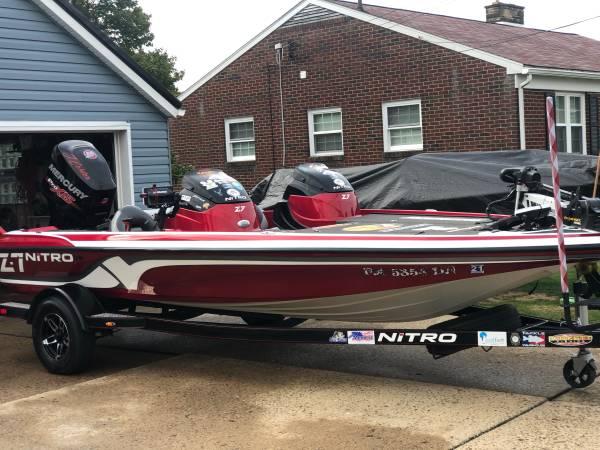 Photo Nitro z7 Bass Boat (DC) - $26,000 (Aliquippa)