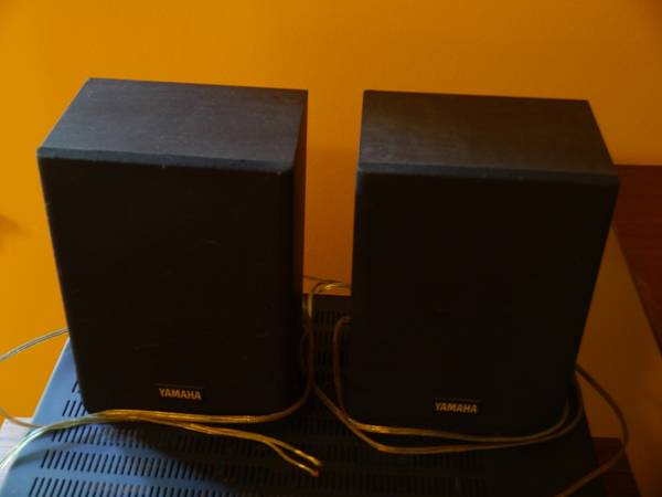 Photo Pair Yamaha NS-A76 NS-AP100 Surround Satellite Bookshelf Speakers - $25 (Morgantown, WV)