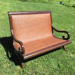 Photo Pier one Settee - $200 (McHenry)