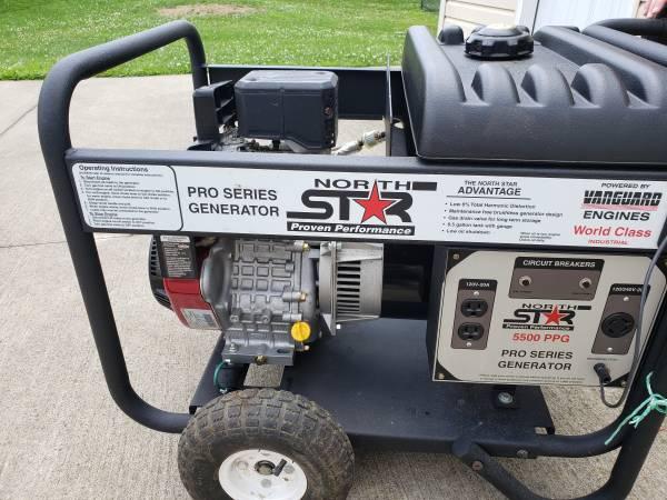 Photo Reduced 5500 Watt Generator - $350 (Blacksville)