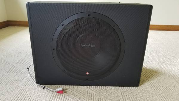 Photo Rockford Fosgate Subwoofer with Amp - $100 (Morgantown)