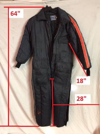 Photo Snowmobile Suit Belted One Piece Size Medium - $80 (Keedysville)