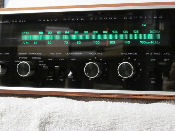 Photo Vintage Knight KG-996 Stereo Receiver - $95 (Jefferson Hills)