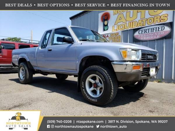 Photo 1990 Toyota 4WD Trucks DX - $12,980 ($500 down youre approved)