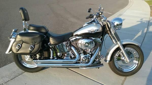 Photo 2003 Harley Davidson Fat Boy 100th Anniversary Edition - $8,950 (Kennewick)