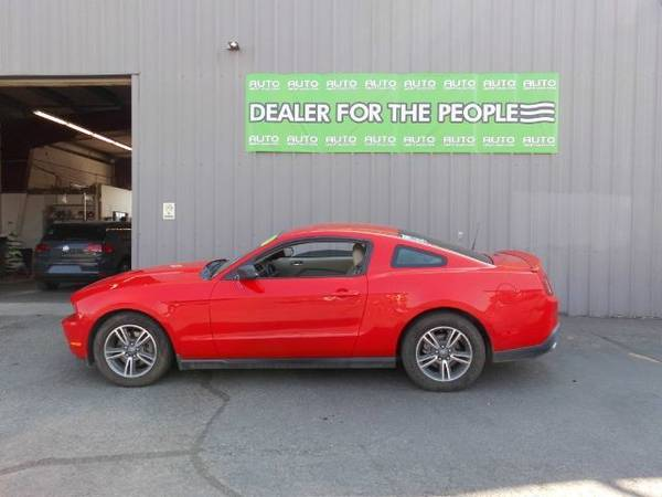Photo 2011 FORD MUSTANG V6 WE CAN APPROVE ANYONE - $8,999 (SPOKANE VALLEY)