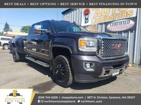 Photo 2015 GMC Sierra 3500HD Denali - $54,480 ($500 down youre approved)