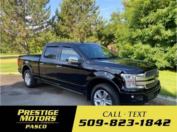 Photo 2018 Ford F-150 Platinum Pickup 4D 5 12 ft - $38,000 (_Ford_ _F-150_ _Truck_)