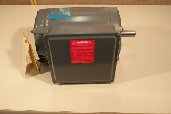 Photo 5HP 1 Phase air compressor motor - $400 (OTIS ORCHARDS)
