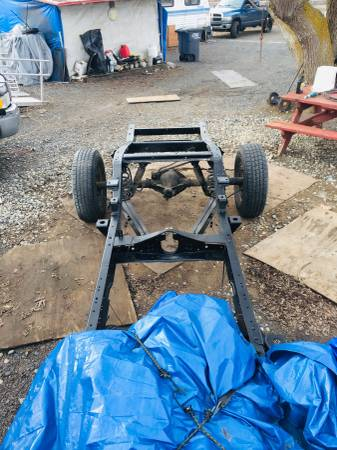 Photo 67-72 Chevy c10 short bed chassis - $1500 (Moses lake)