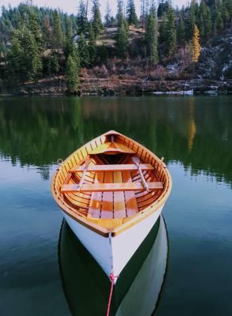 Photo Hand built quotPea Podquot Rowing Boat - $5,500 (Coeur d39Alene)