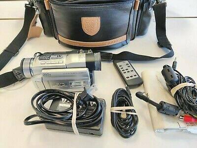 Photo JVC GR-DVL307 Camcorder with many extras - $70 (Coeur D Alene)