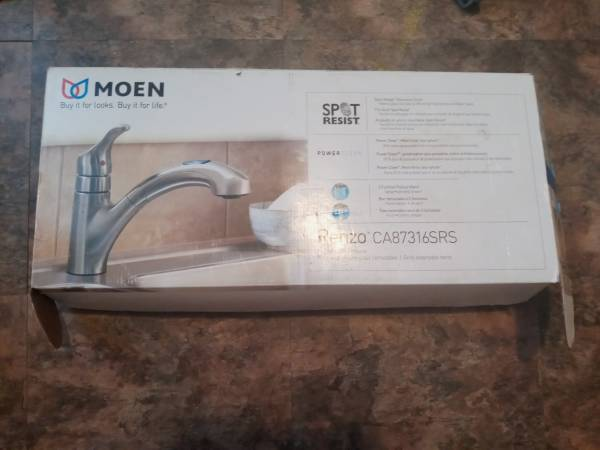 Photo Moen Kitchen Faucet - $65