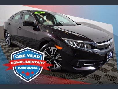 Photo Used 2016 Honda Civic EX-T Sedan for sale