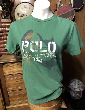 Photo Vintage Polo Ralph Lauren 90s T-Shirt Great White shark Cage Mens S Wo - $30 (Spokane Valley)