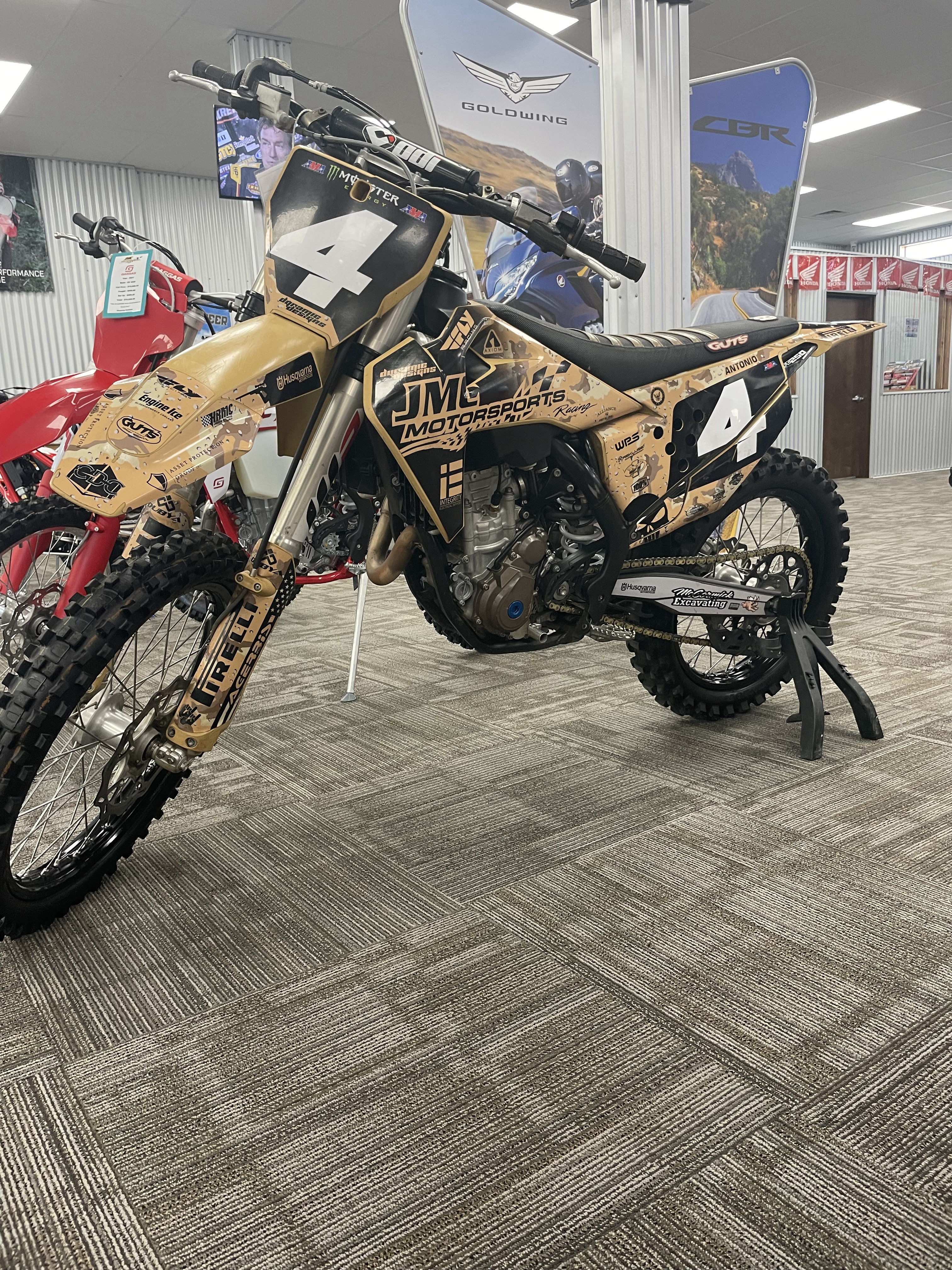 Photo Used 2019 Husqvarna Motorcycles Competition Motorcycle  $6995