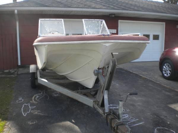 Photo 1972 MFG Gypsy Tri Hull ProjectTrade - $500 (Bluffton, IN)