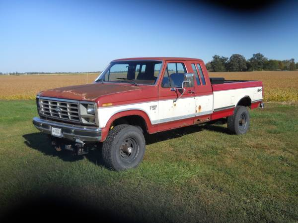Photo 1986 Ford F-250 - $4,000 (Anderson)