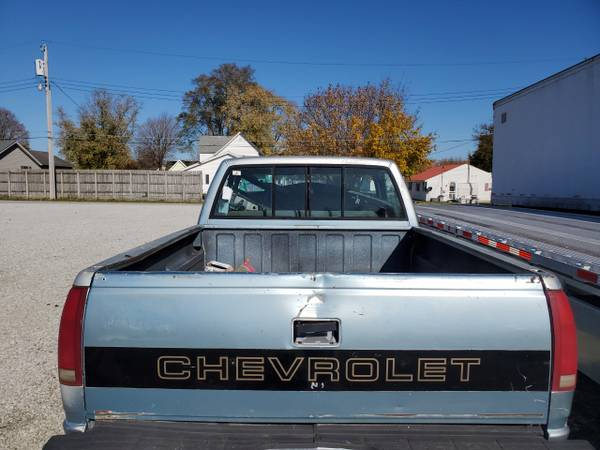 Photo 1989 Chevy Bed - $500 (gas city)