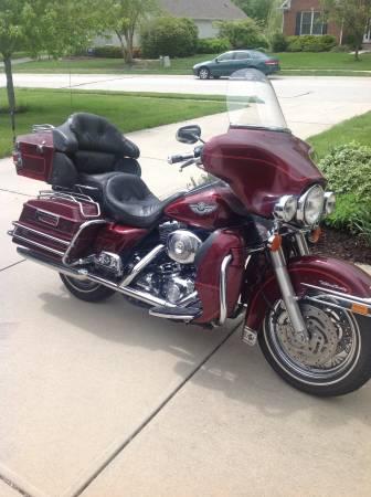 Photo 2003 Harley Davidson Ultra Classic - $7,950 (Carmel)