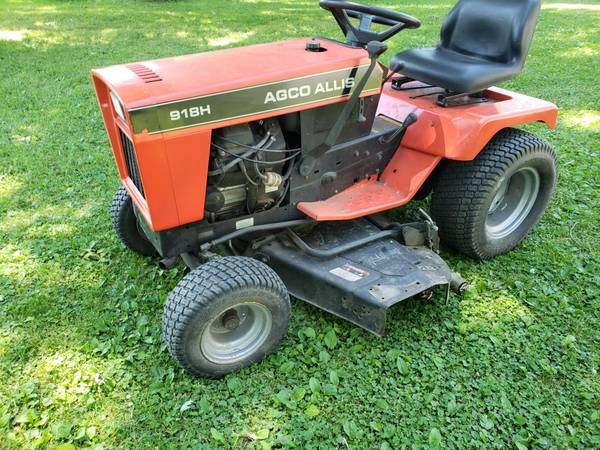 Photo Agco Allis 918H (Simplicity Sovereign) 18hp, 48quot FREE 42quot snow blade - $1,399 (MuncieAlbany, IN)