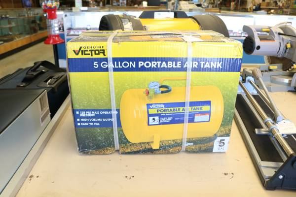 Photo Brand New Victor 5 Gallon Air Tank - $24 (Anderson)