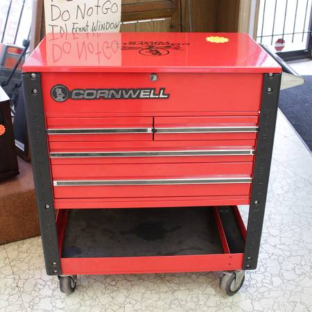 Cornwell 4 Drawer Tool Cart With Key 100 00150018 495 130 East 10th St Tools For Sale Muncie In Shoppok