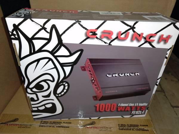 Photo Crunch 1000 watt 4 channel lifier  PX1025.4 - $95 (Anderson)