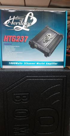 Photo Lanzar 1000 watt mono block lifier  HTG237 - $89 (Anderson)