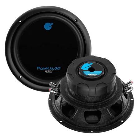 Photo Planet Audio 10 Woofer, 750W RMS1500W Max, Dual 4 Ohm Voice Coils - $79 (New Castle)