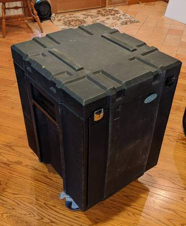 Photo SKB 10 over 10 rolling Mixer Rack  GigRig - $95 (56th and Illinois st  Butler area)