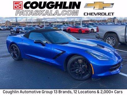 Photo Used 2015 Chevrolet Corvette Stingray Convertible for sale