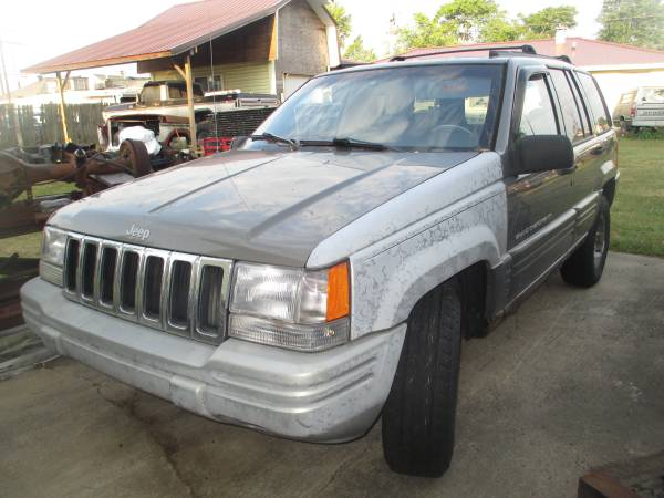 Photo parting out 1998 Jeep Grand Cherokee - $100 (Alexandria)