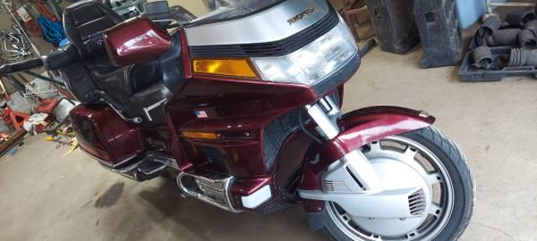 Photo 1989 1500 Honda Goldwing - $3,500 (sheboygan)
