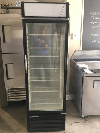 Photo Beverage Display Cooler - Perfect for man cave or garage (Grand Rapids)