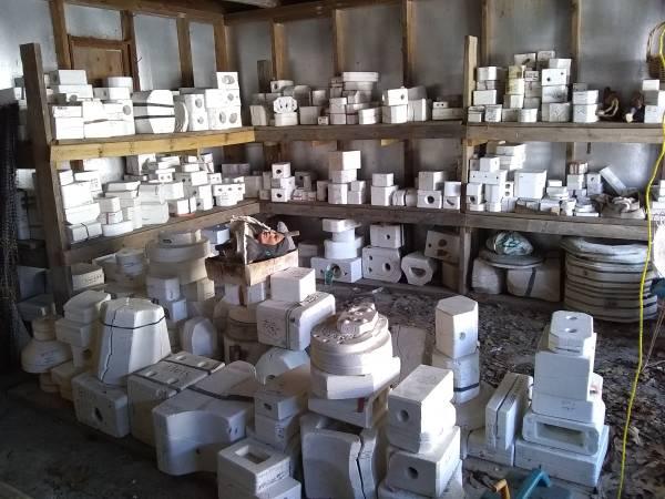 Photo Ceramic molds for sale - $200 (Grant)