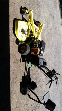 Photo Commercial walk-behind mower for sale - $1,500 (Grand Haven)