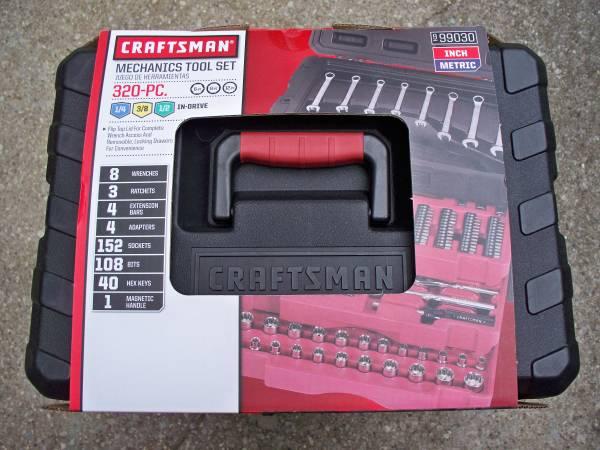 Photo Craftsman 320 pc Mechanic Tool Set - $200 (Norton Shores)