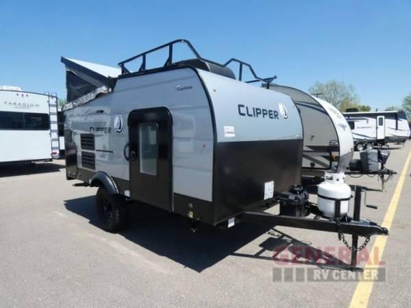 Photo Folding Pop-Up Cer 2021 Coachmen RV Clipper Cing Trailers 12.0TD - $18,879