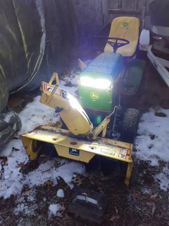 Photo John Deere 111 package deal - $500 (Muskegon  Wolf39s Lake)