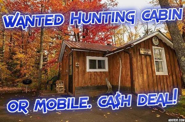 Photo Looking for - FOR SALE BY OWNER - Mobile or Cabin (around Ludington - Baldwin area)