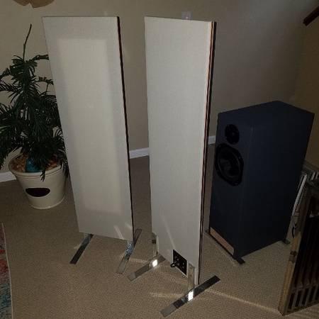 Photo Magnepan LRS Ribbon panel Speakers - $600 (Whitehall)