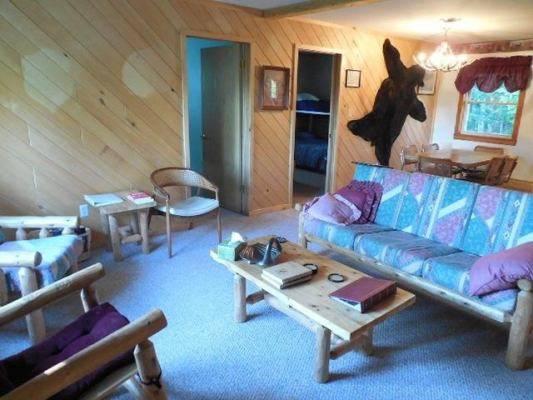 Photo Rustic Log Cabin Furniture Set ($5241 new) - $1,999 (Montague)