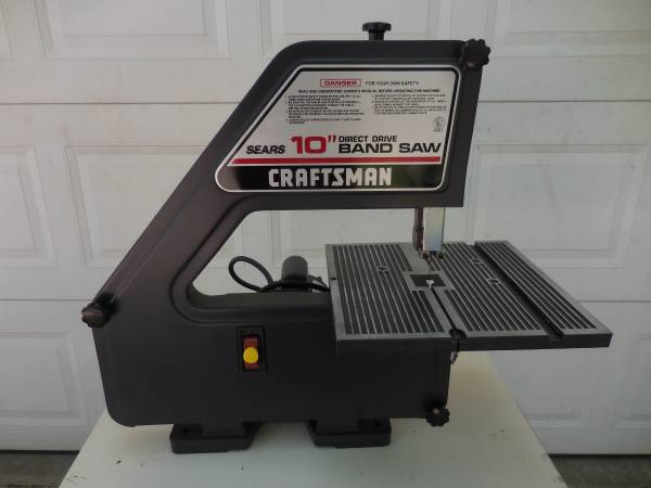 Photo Sears Craftsman 10quot Direct Drive Band Saw - $110 (Muskegon)