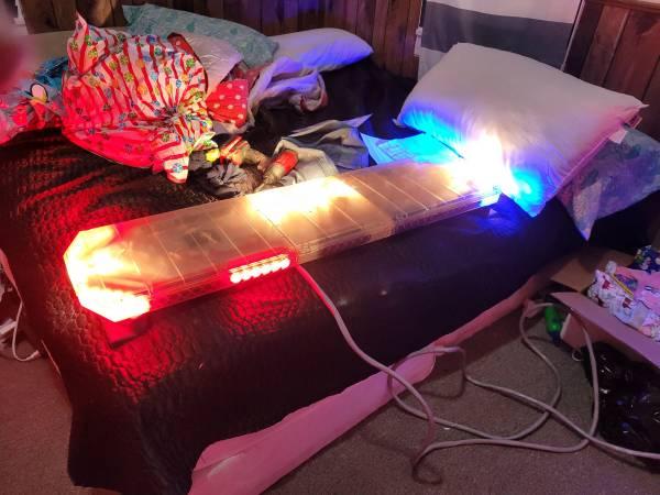 Photo Used Code 3 led x 2100 47quot light bar - $500 (Muskegon)