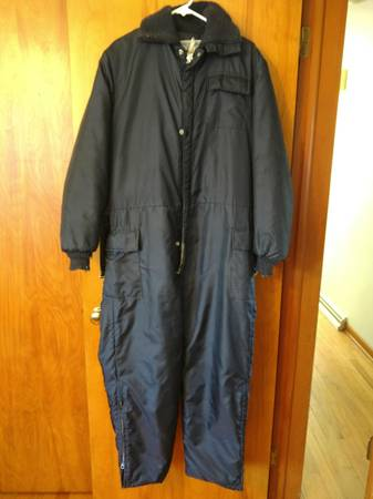 Photo Vintage Midwest Outerwear Insulated Snowmobile Suit - $30 (Norton Shores)