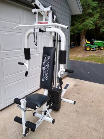 Photo WEIIDER Cross Trainer Master Power stack 200 lb. Bench press - $200